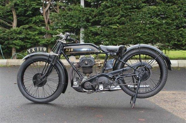 1928 AJS 350cc Model K6