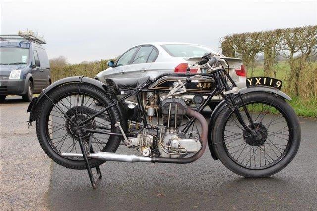 1928 AJS 350cc Model K6 - 2