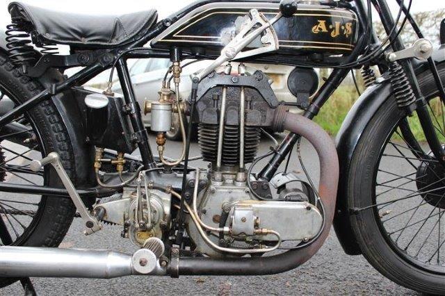1928 AJS 350cc Model K6 - 3