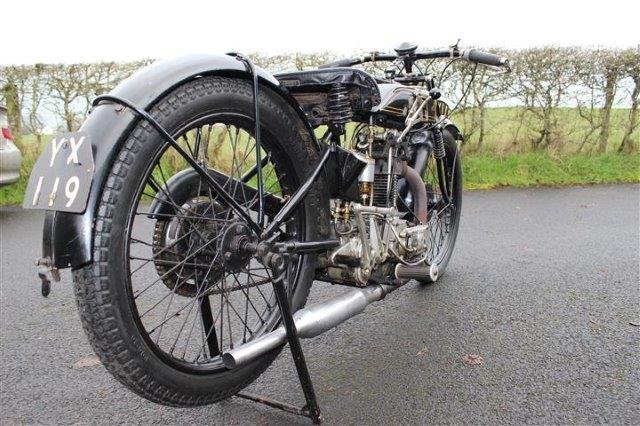 1928 AJS 350cc Model K6 - 5