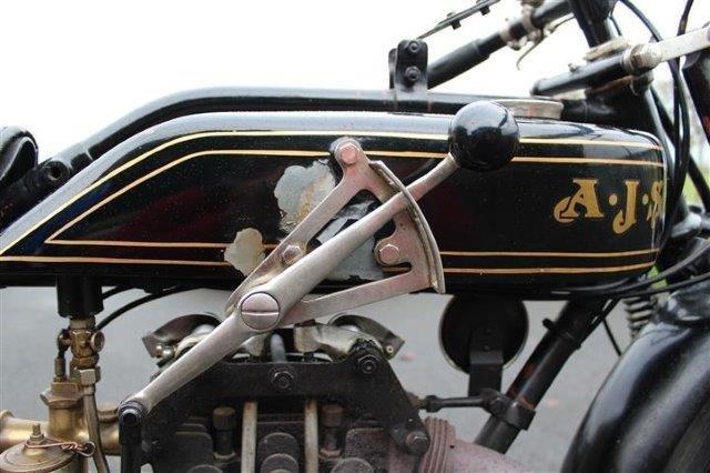 1928 AJS 350cc Model K6 - 7