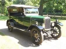 1924 Alvis 12/40 Tourer