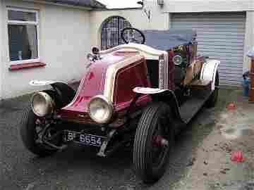1912 Renault CE 'Balloon Car'