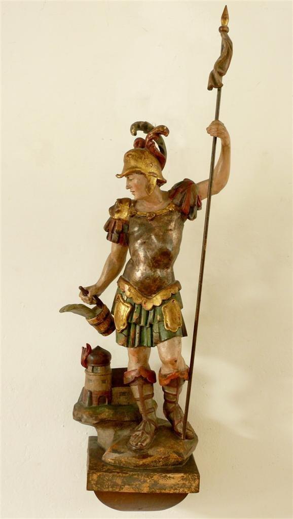 1: St. Florian. 18th century