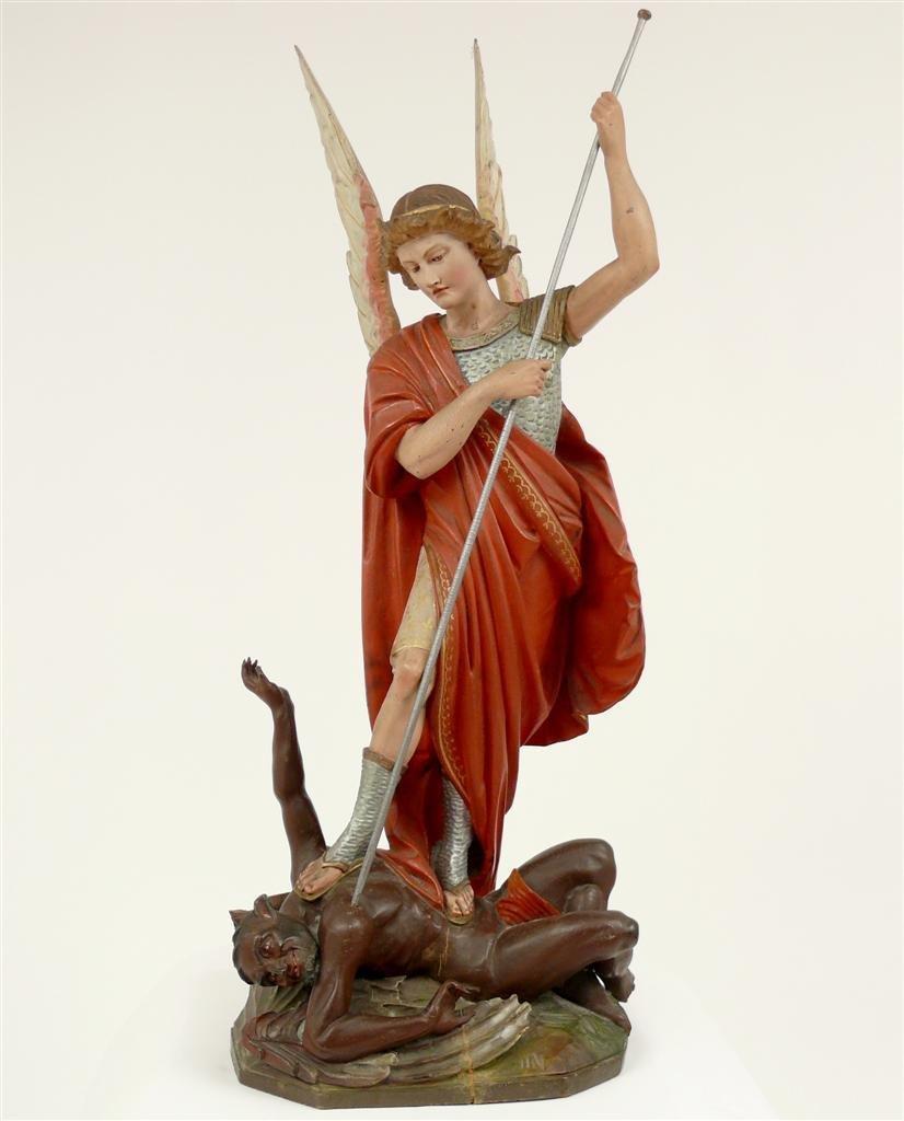 20: Archangel Michael. 19th century