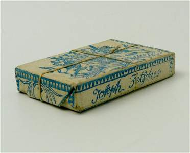 604: Fetscher, Joseph. Playing cards. Around 1800.