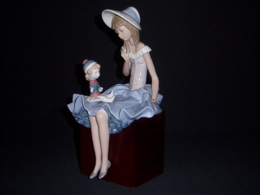 13: Lladro Girl with Doll