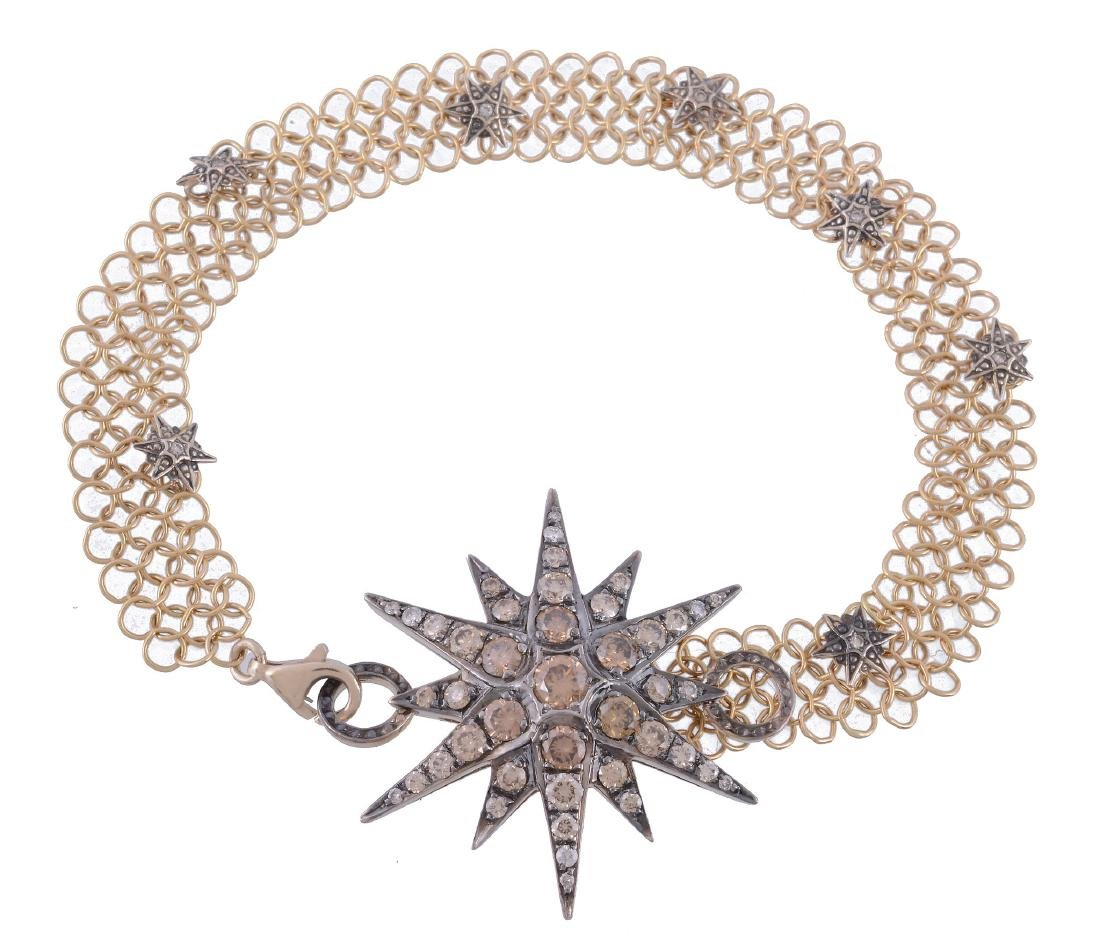 A brown diamond Genesis bracelet by H. Stern