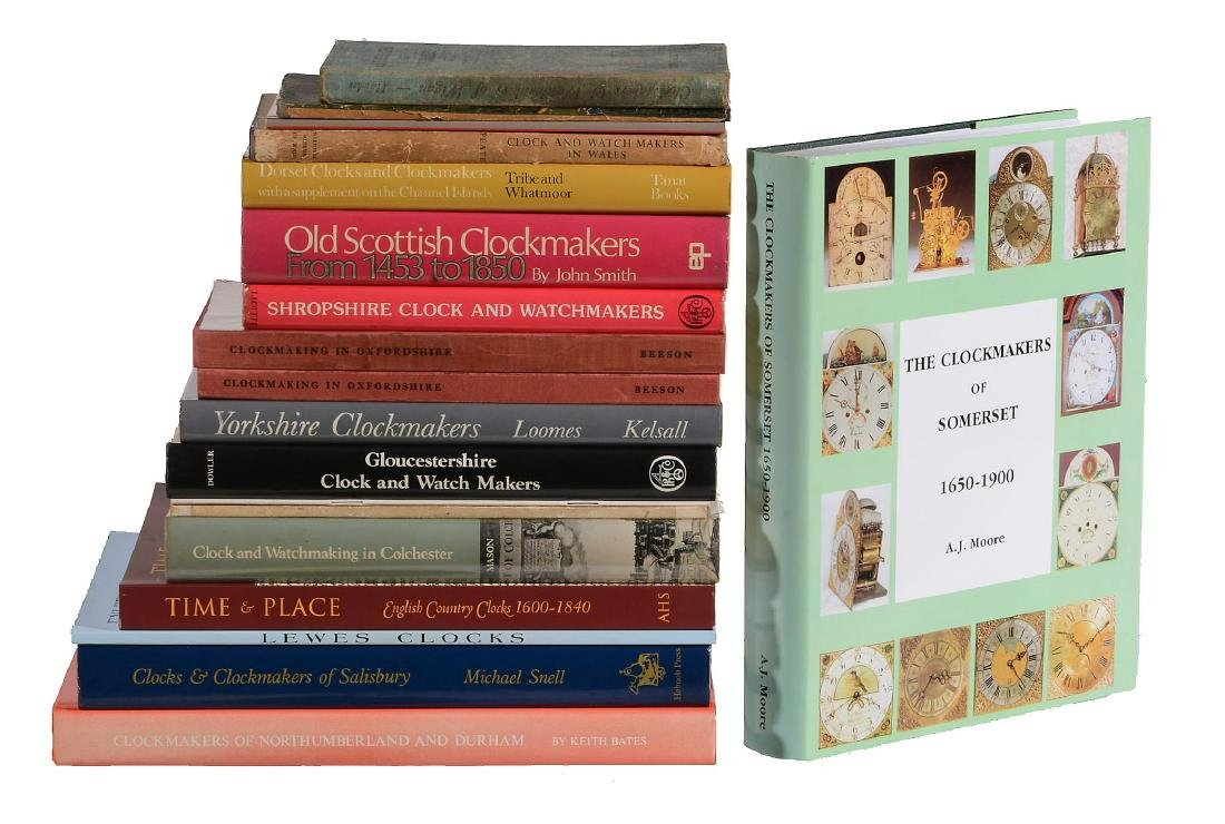 Regional clockmaking, twenty titles: Moore, A. J