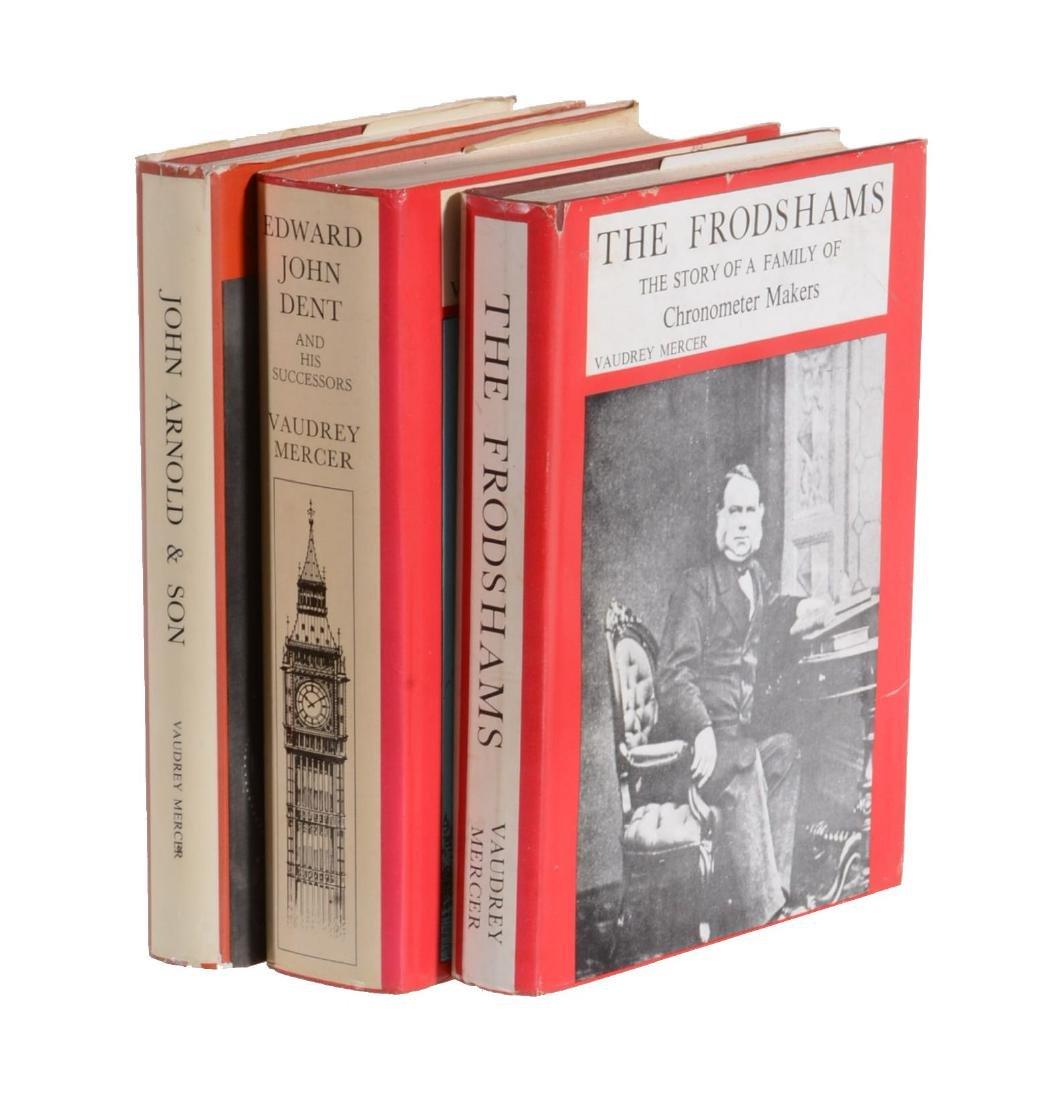 Mercer, Vaudrey, three titles: JOHN ARNOLD AND SON,