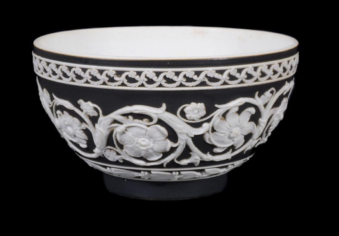 A Wedgwood black-dip jasper zodiacal teabowl and - 6