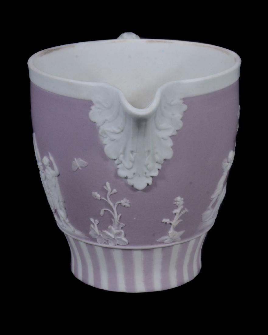 A Wedgwood lilac-dip jasper cylindrical custard cup and - 10