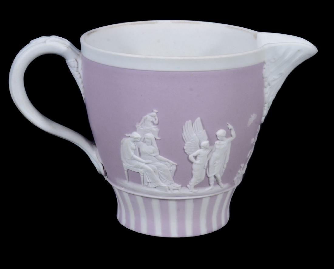 A Wedgwood lilac-dip jasper cylindrical custard cup and - 9