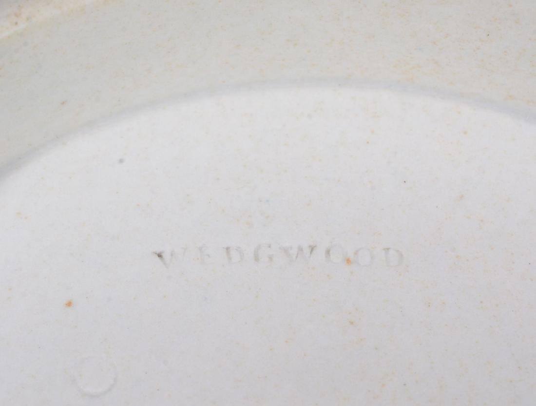 A Wedgwood four-colour jasper 'diced' slop bowl from a - 5
