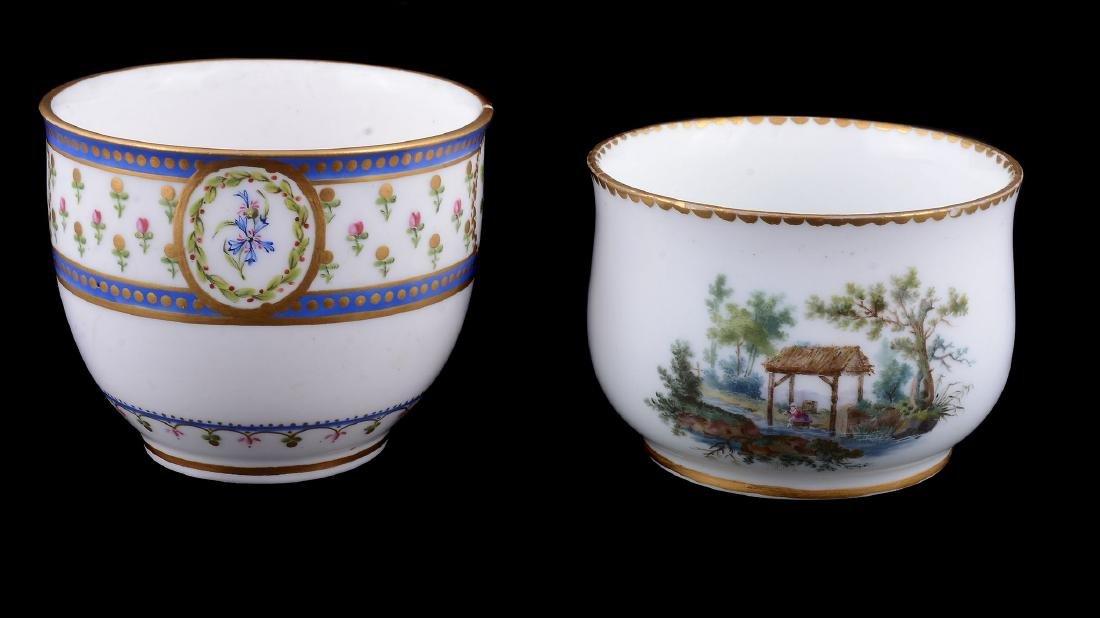 A Sevres porcelain sugar bowl , circa 1784 - 5
