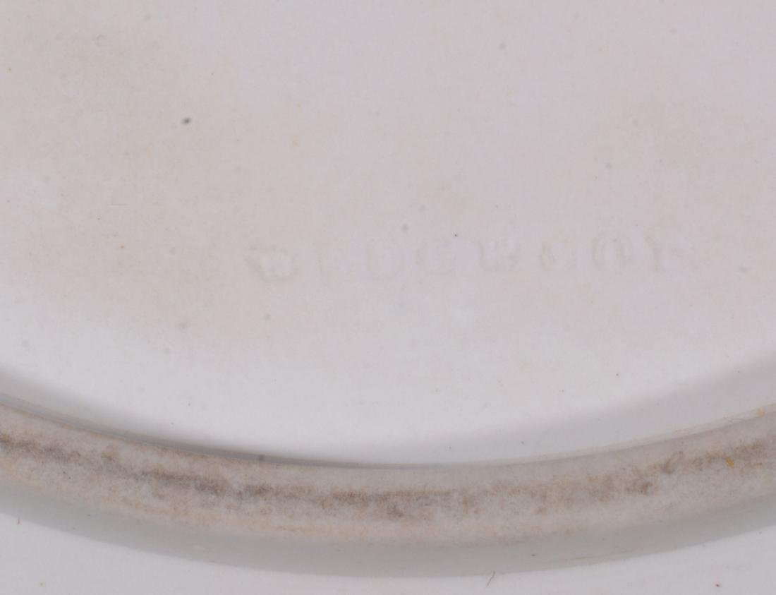 A Wedgwood three colour jasper coffee can and saucer, - 5