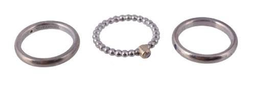 A diamond ring by Elsa Peretti for Tiffany & Co