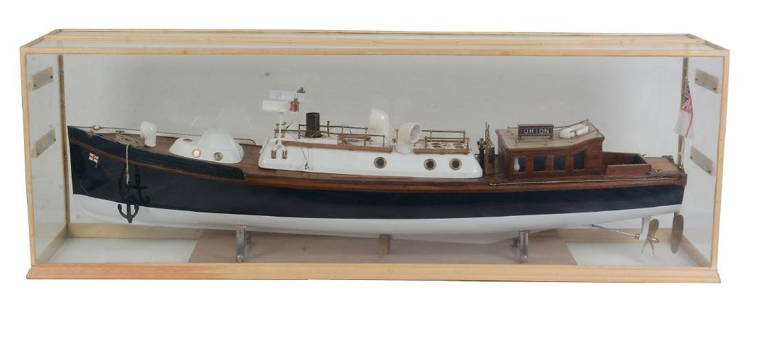 A fine detailed 1/12th scale model of a Royal Navy - 8