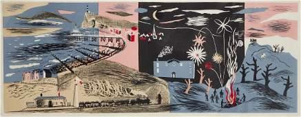 John Piper (British 1903-1992) - Nursery Frieze II