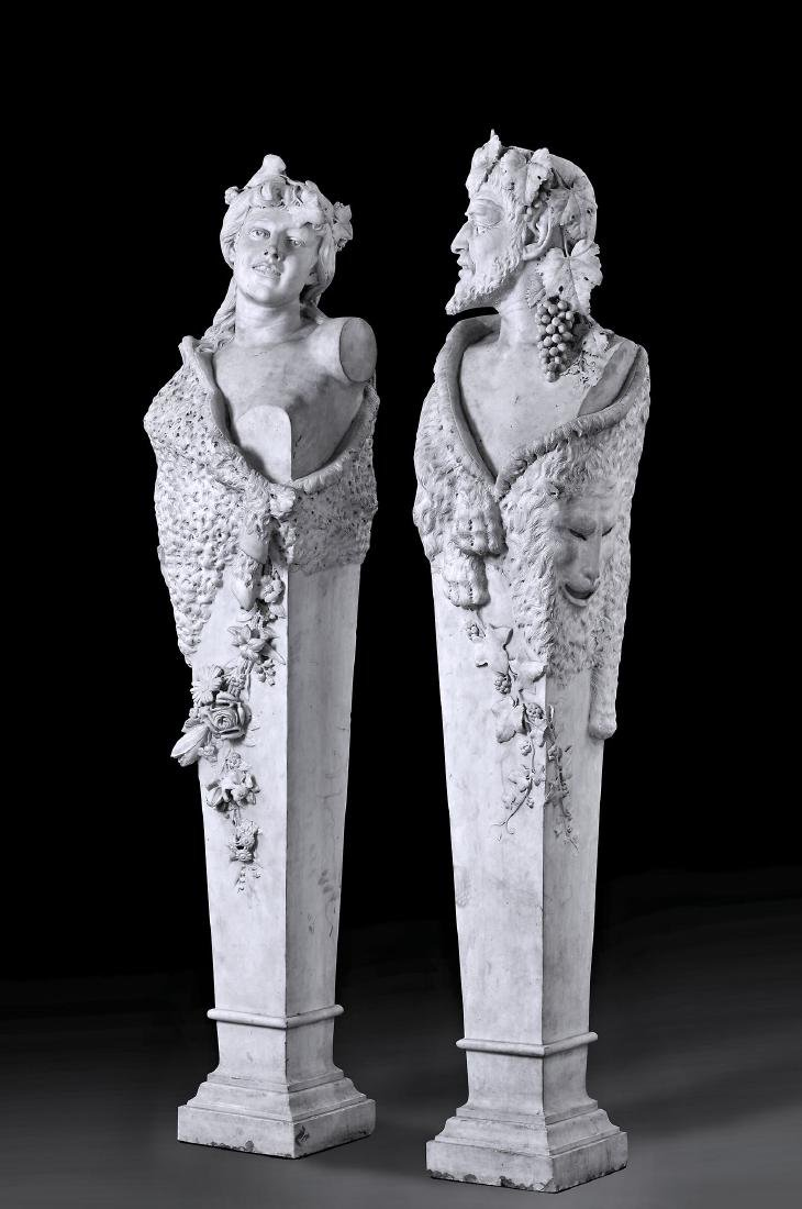 Follower of James Pradier , a pair of Continental