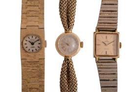 Omega, ref. 7049.D, a lady's 18 carat gold bracelet