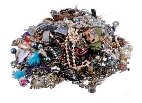 A collection of costume jewellery, to include various