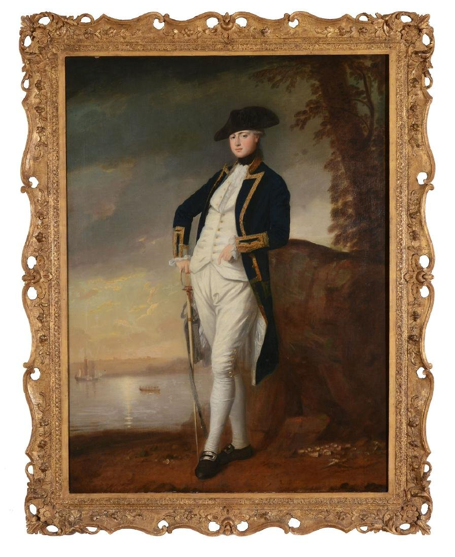 Attributed to George Romney (British, 1734-1802) -