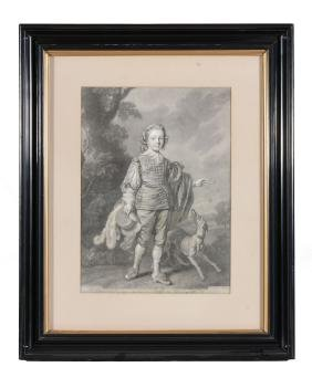 Josiah Boydell after Sir Anthony van Dyck King Charles