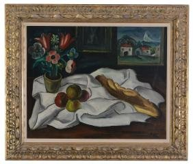 Celso Lagar (Spanish,1891-1966) - Nature morte avec la