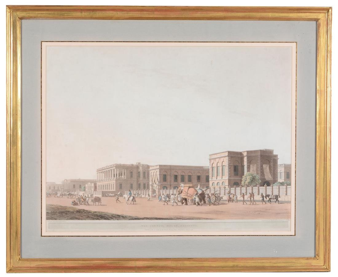 Thomas Daniell (British, 1749-1840) - Four views of