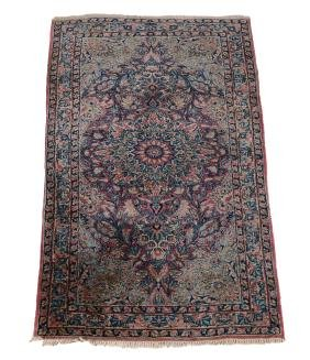A Kirman rug, South Persia , early 20th century
