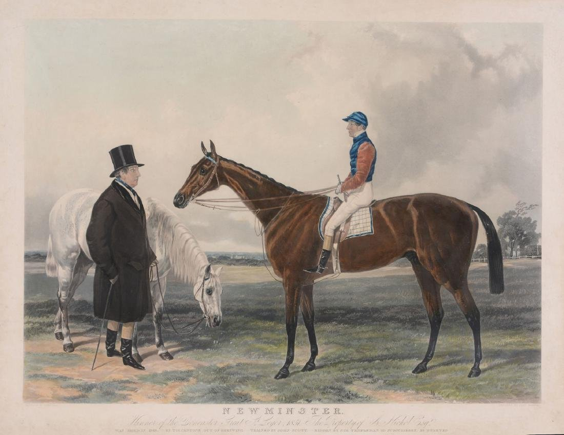 After Harry Hall (British 1816 - 1882) - Newminster