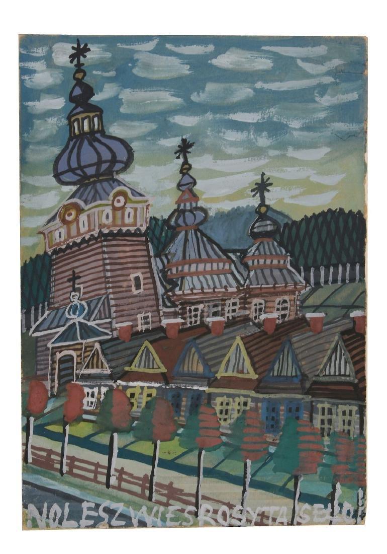 Nikifor Krynicki (Polish/Ukranian, 1895-1968) -