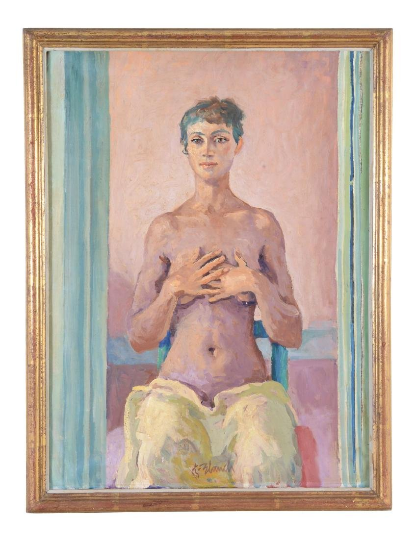 Xavier Blanch Pla (Spanish 1918-1999) - Young woman - 2