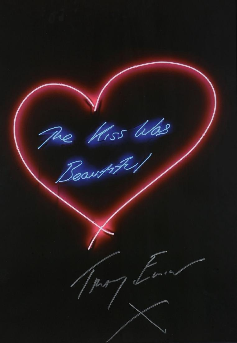 Tracey Emin (British b.1963) - The Kiss was Beautiful