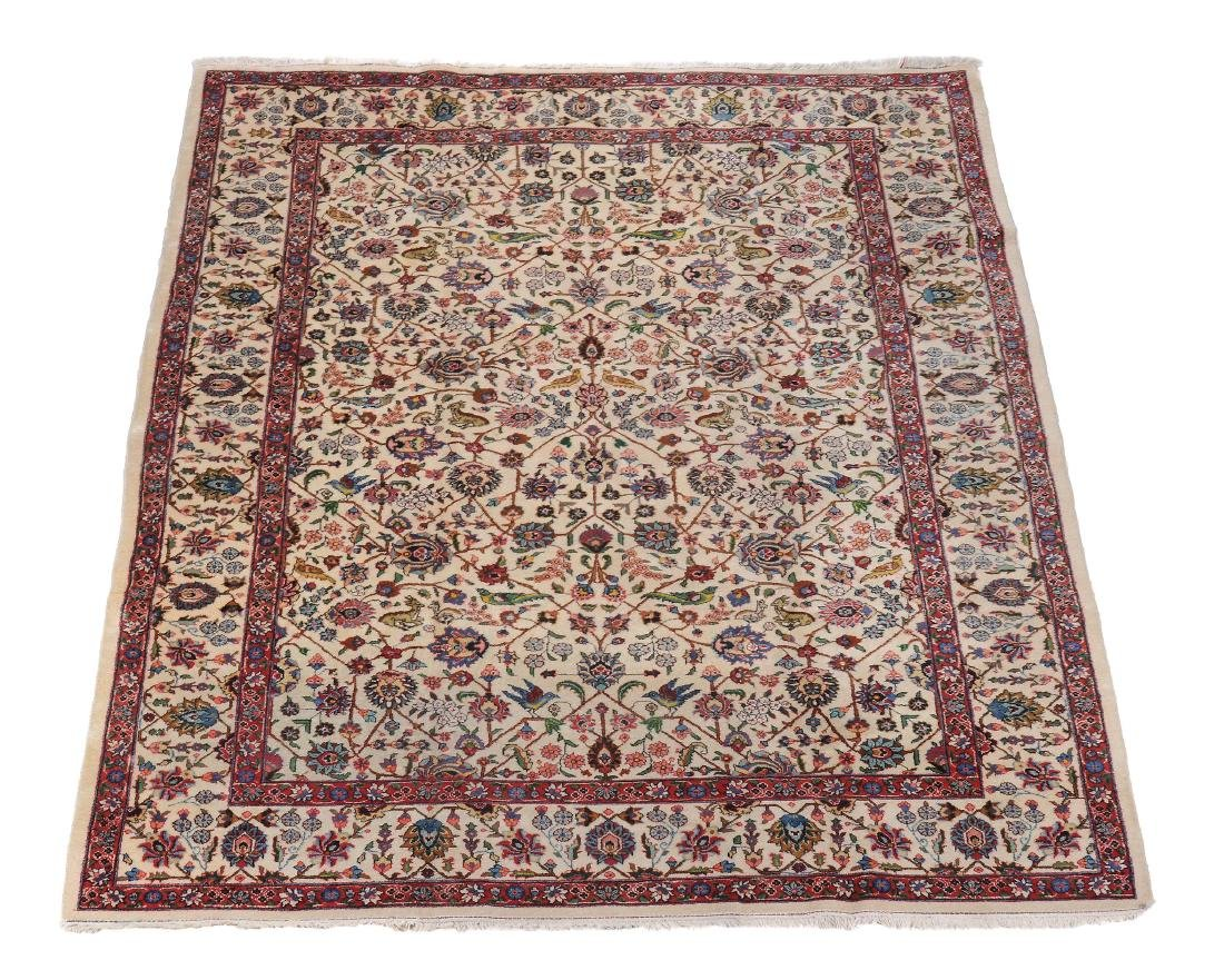 A Tabriz carpet, approximately 343 x 249cm