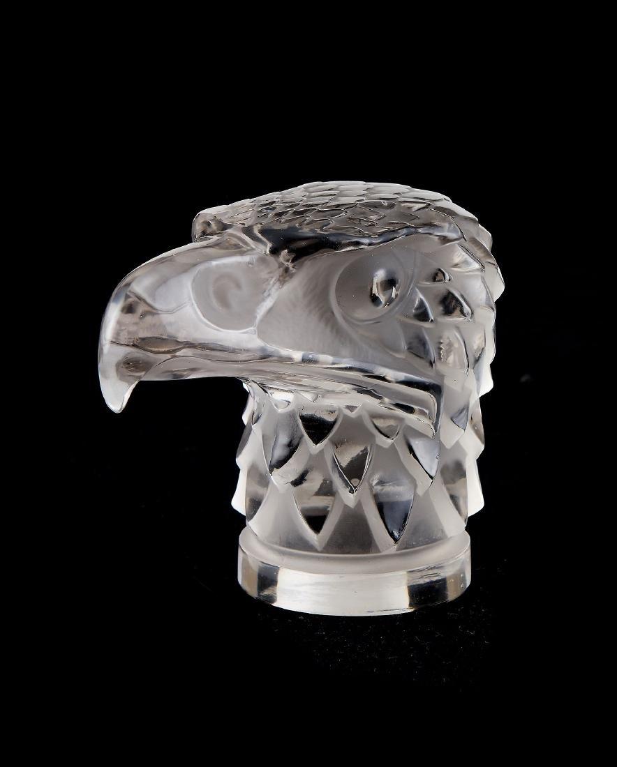 Lalique, Rene Lalique, Tete d'Aigle, a clear and