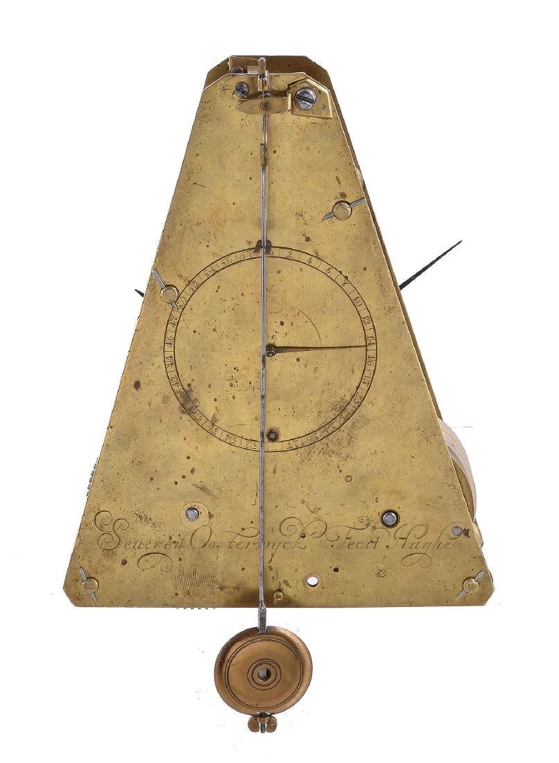 The Bruce-Oosterwijck Longitude pendulum sea clock -
