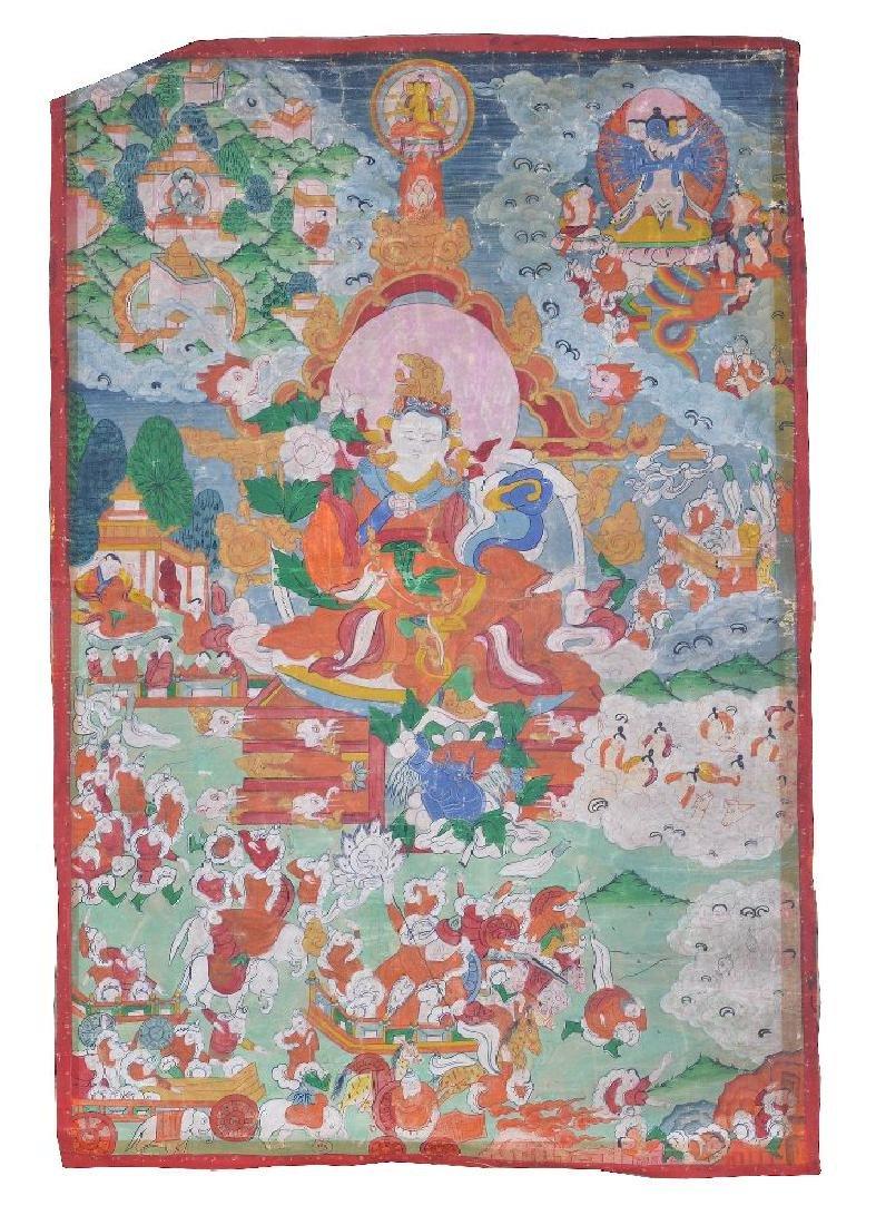 Three Tibetan Thang ka - 2