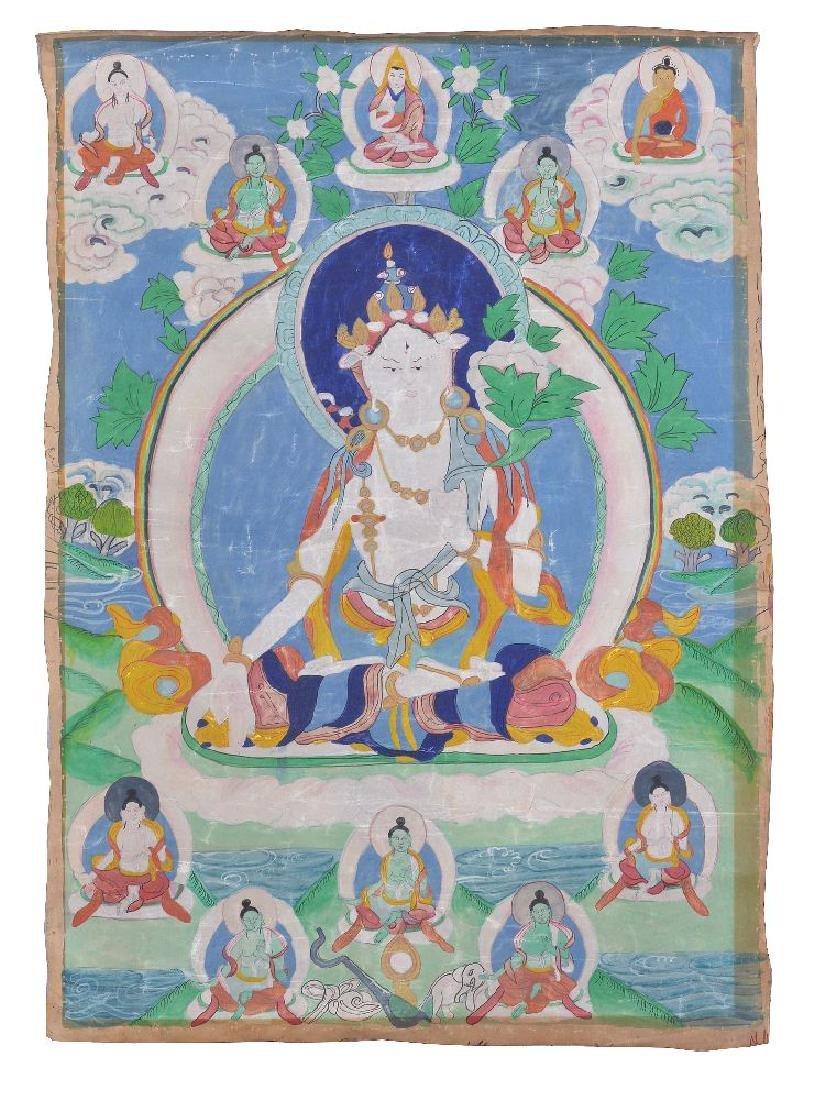 Three Tibetan Thang ka - 3