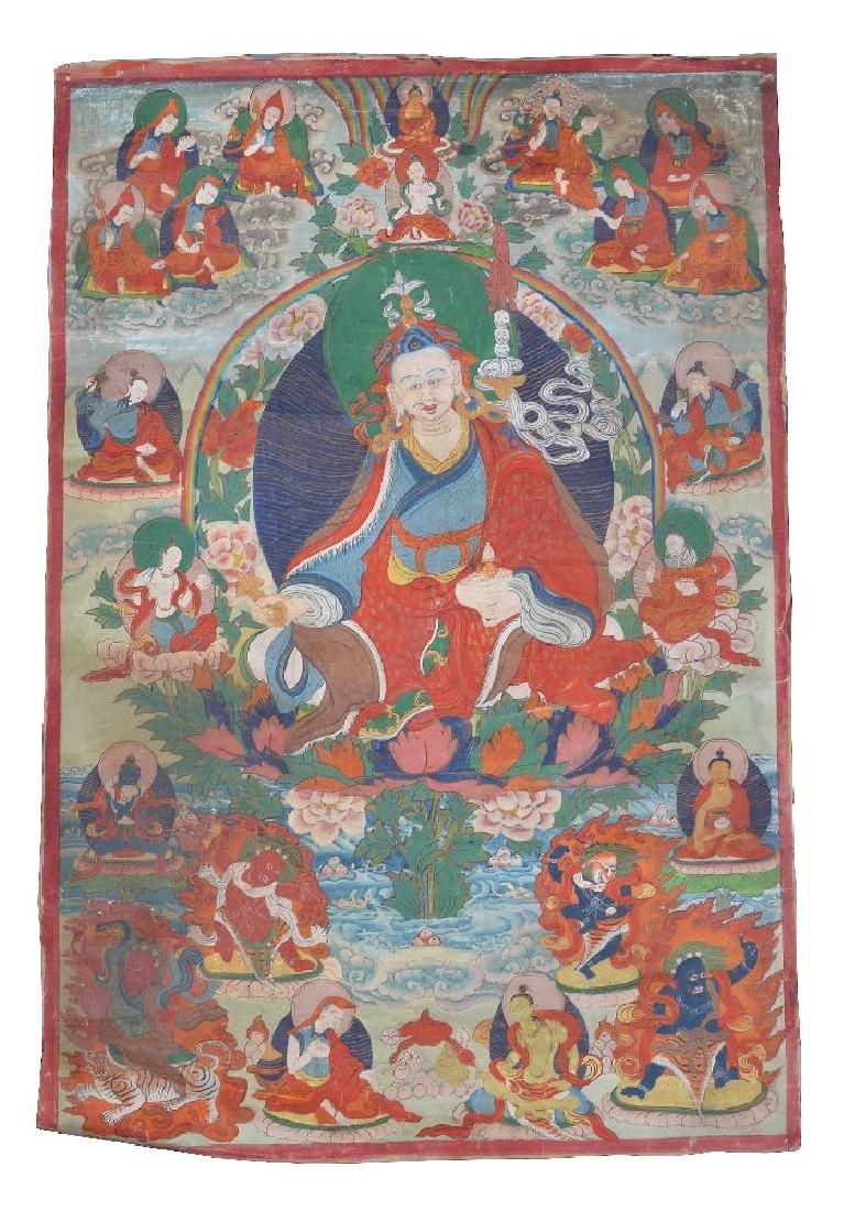 Three Tibetan Thang ka - 4