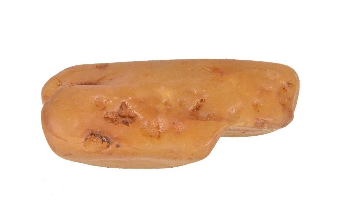 A Yellow Wax Stone Scholar's Rock - 4