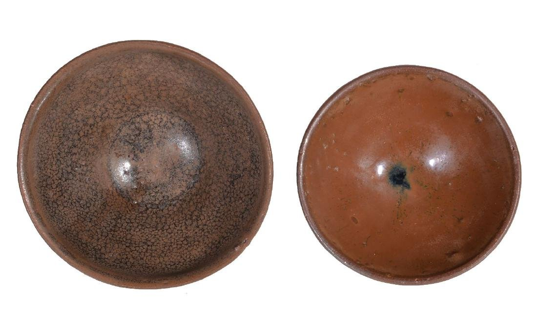 Two Chinese 'Jian' ware bowls - 2