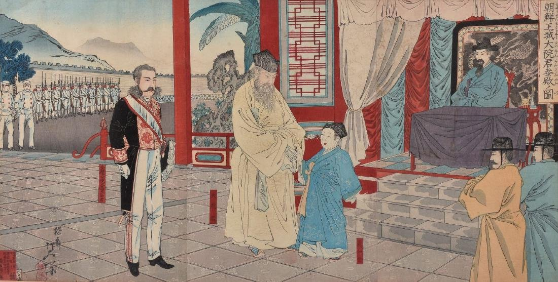 Senso-E: Two Sino-Japanese War Woodblock Printed