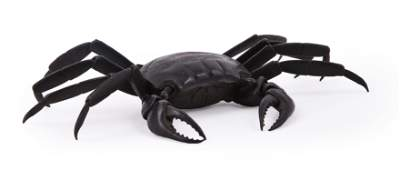 A Japanese Iron Articulated Model of a Crab (Jizai