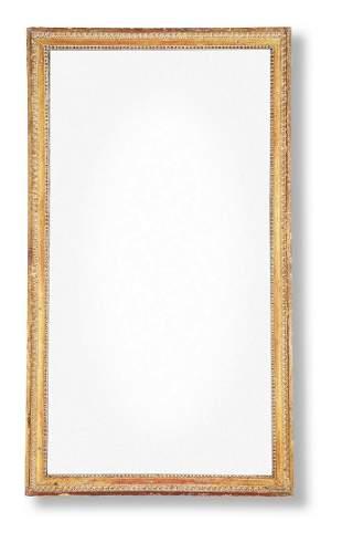 A GEORGE III GILTWOOD MIRROR, CIRCA 1775