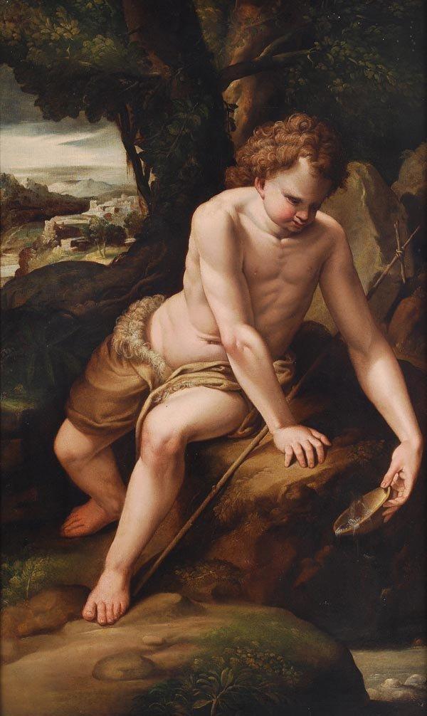 6: Flemish School (17th century) St John the Baptist