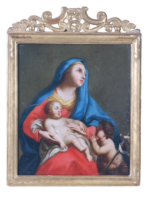 7: Follower of Francesco Solimena Madonna and child O