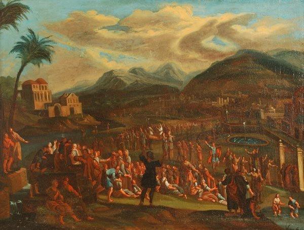 18: Follower of Johannes Jacob Hartman The procession