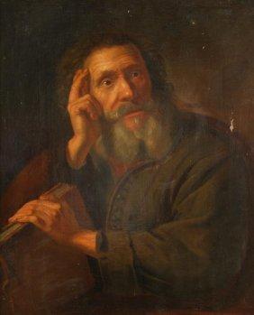 20: Follower of Philippe de Champaigne A philosopher O
